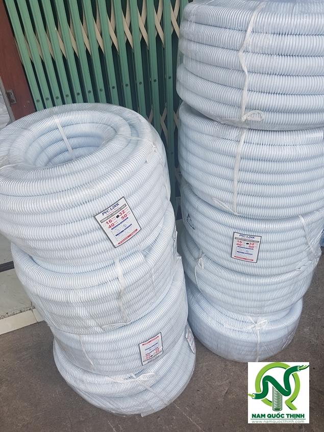 Ống Điện Ruột Gà PVC