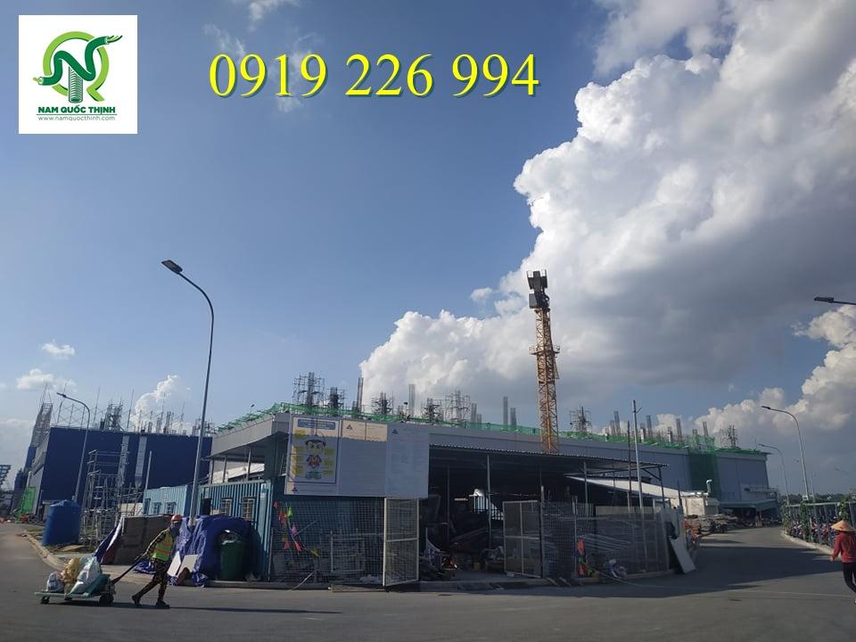Nhà máy Jabil đang trong tiến độ thi công