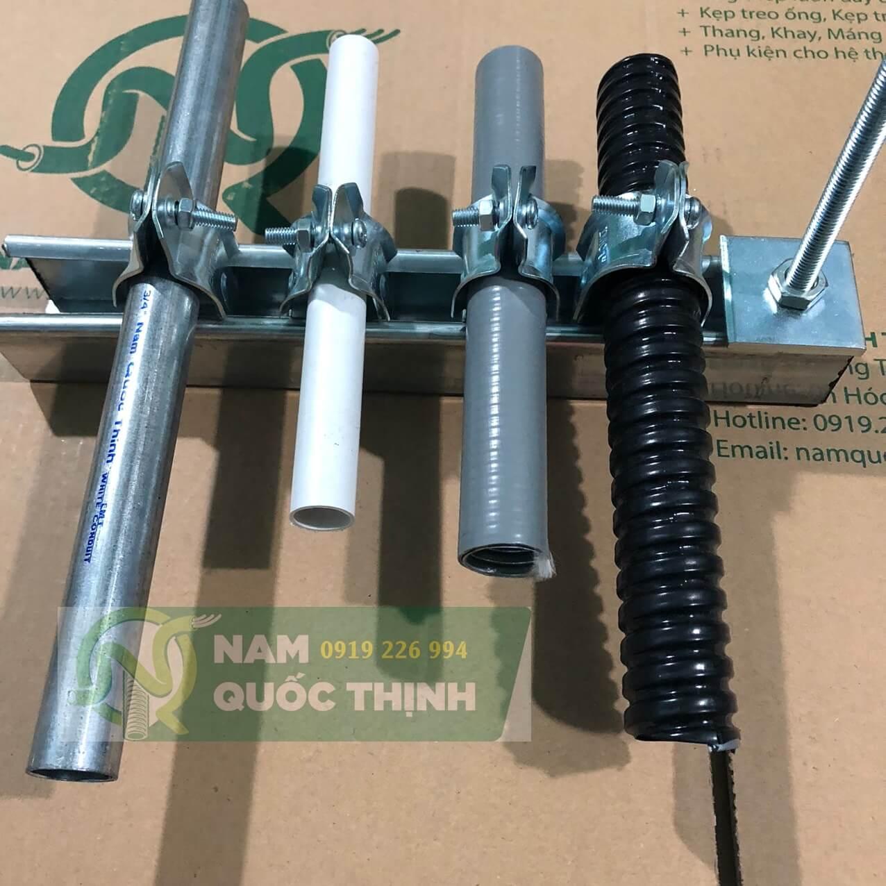 Kẹp ski treo các loại ống luồn dây điện