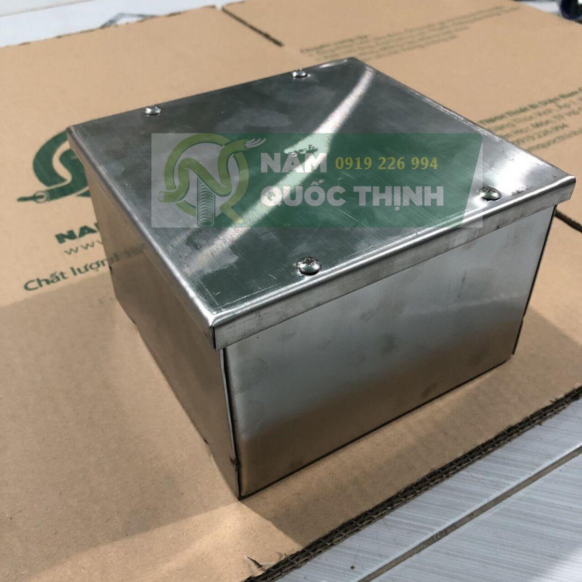 Hộp pullbox inox 304 200x200x100