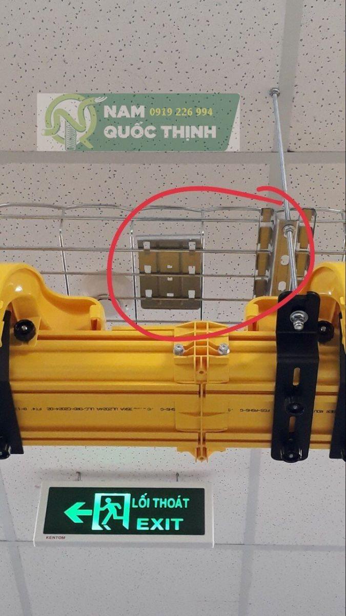 Giá đỡ giữ máng cáp dạng lưới inox 304