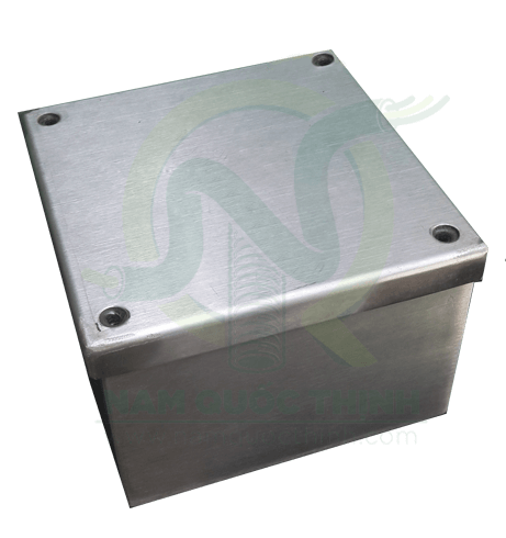 Hộp thép pullbox inox 304 100x100x100