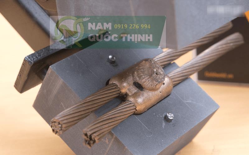 Khuôn hàn hoá nhiệt cáp đồng trần 2 ngã
