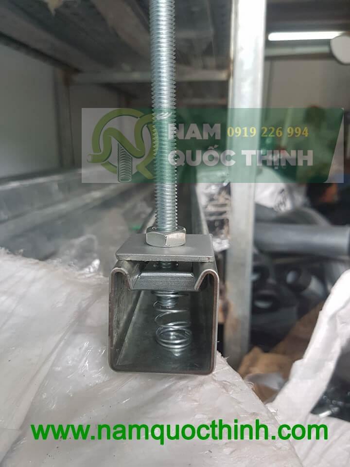 Tán lò xo gắn vào thanh chống đa năng 41x41