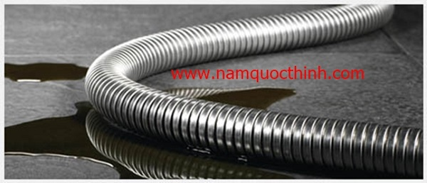 Ống ruột gà lõi thép mạ kẽm/inox chất lượng tại Nam Quốc Thịnh