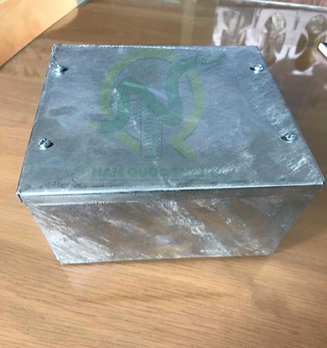 Hộp box điện sắt nhúng nóng 150x150x100