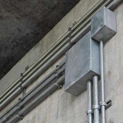 Pullbox nhúng nóng nối ống thép luồn dây điện