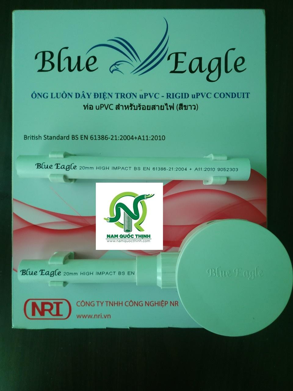 Ống luồn dây điện PVC Blue Eagle