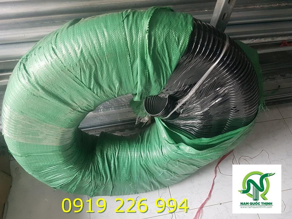 Ống ruột gà thép bọc nhựa D114