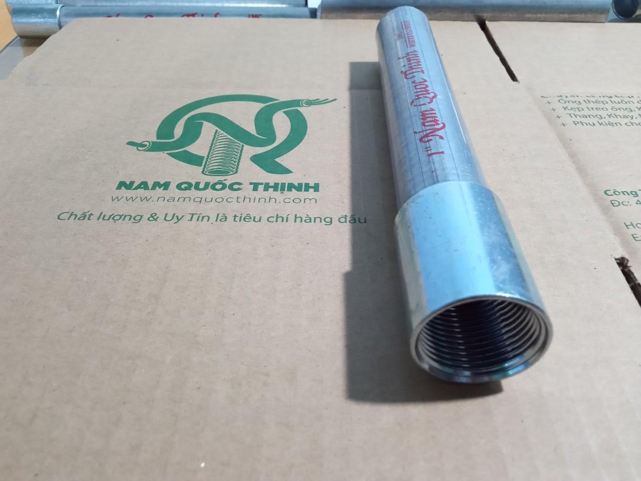 Khớp nối ống thép luồn dây điện ren IMC 1