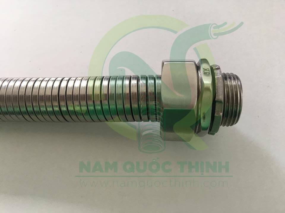 Đầu nối ống ruột gà kín nước inox 304 với ống ruột gà inox