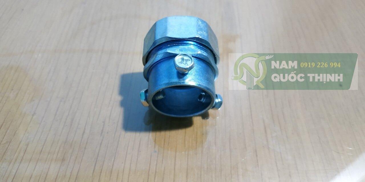 Đầu nối ống mềm kín nước phi 25 với ống emt