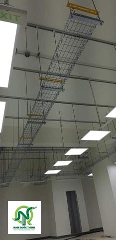 Hệ thống máng cáp dạng lưới inox 304 Nam Quốc Thịnh