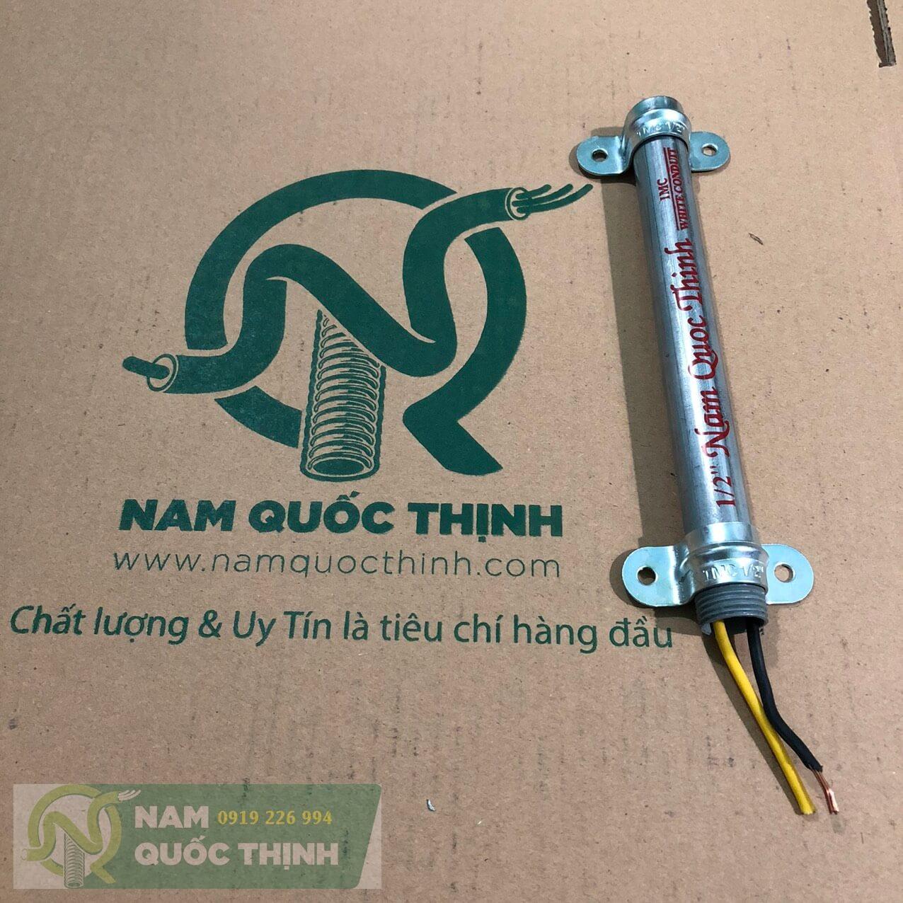 Kẹp ống không đế ống thép imc luồn dây điện