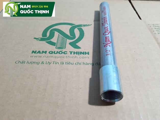 Khớp nối ống sắt tráng kẽm luồn dây điện IMC phi 21