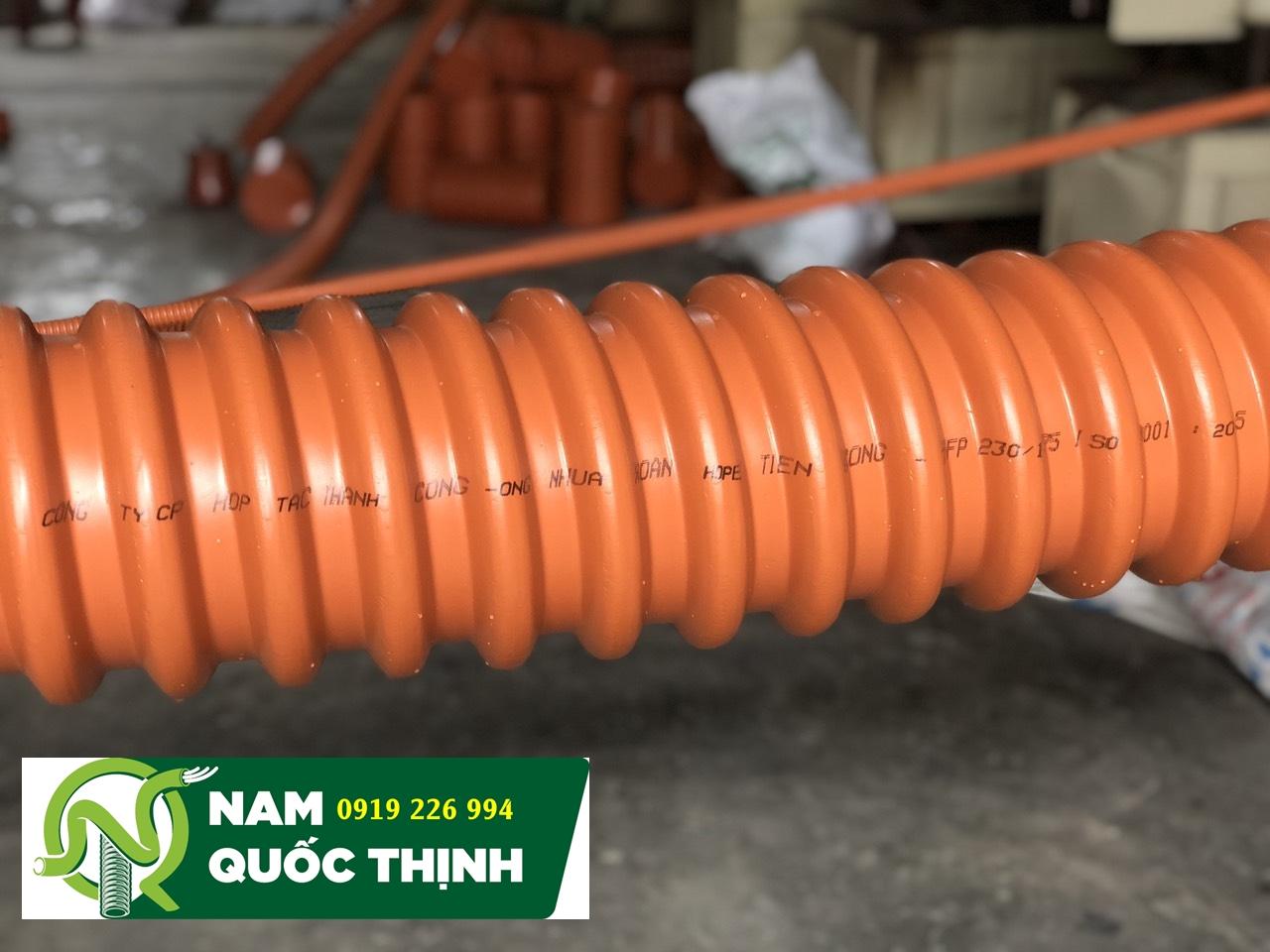Ống xoắn luồn dây điện HDPE Thành Công