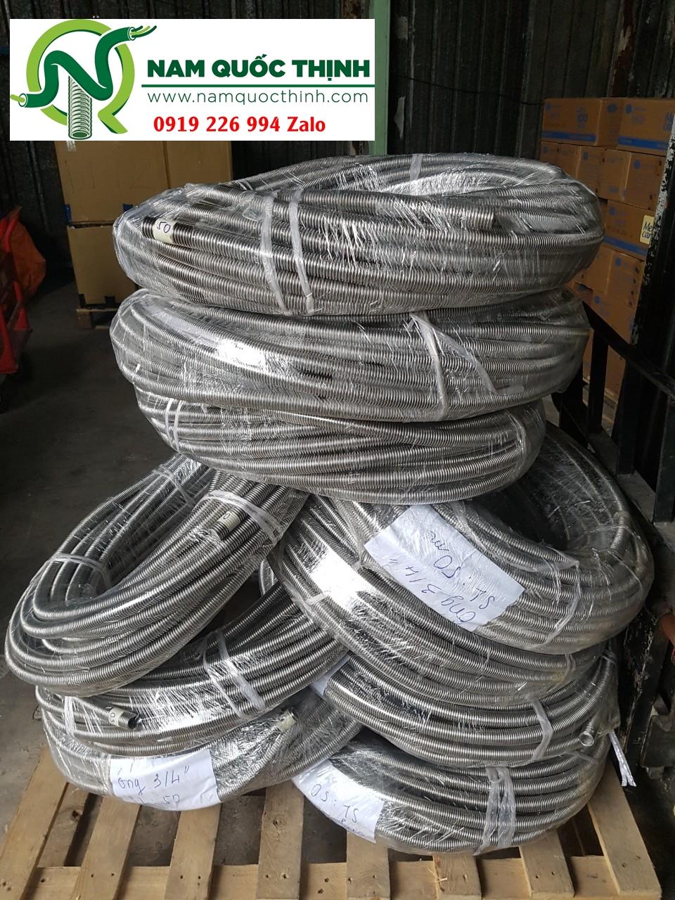 Bảng giá ống ruột gà inox 304 Nam Quốc Thịnh