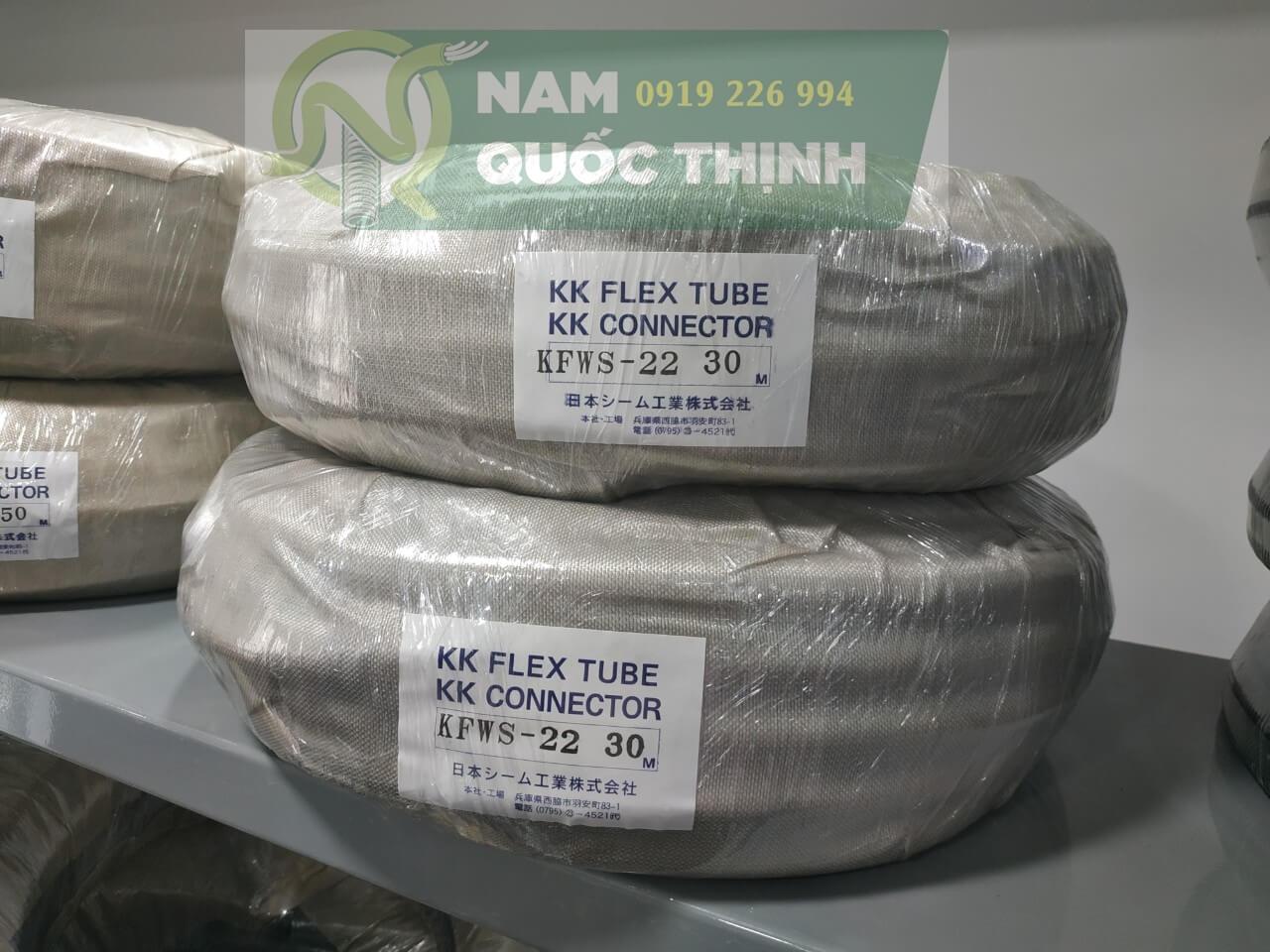 Ống ruột gà lõi thép bọc lưới inox 304