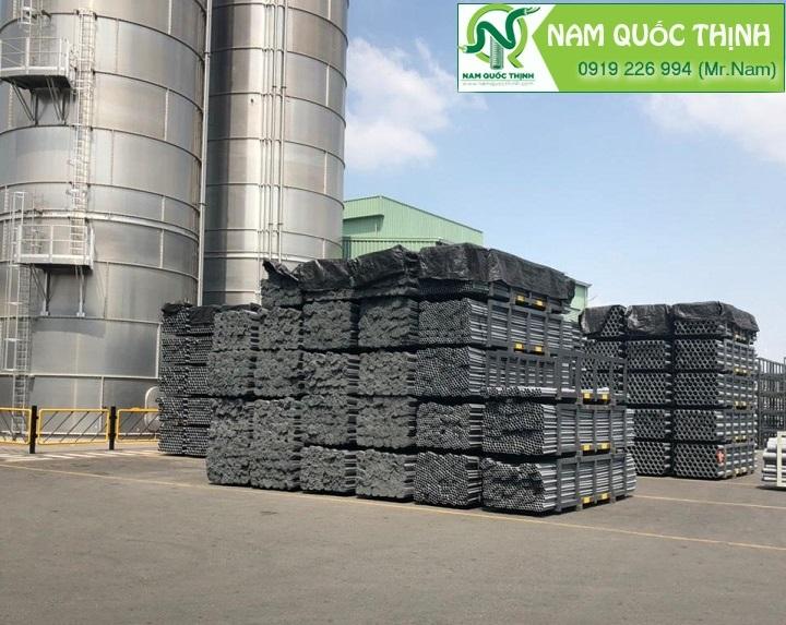 Cấp máng lưới inox 304 tại nhà máy nhựa Bình Minh