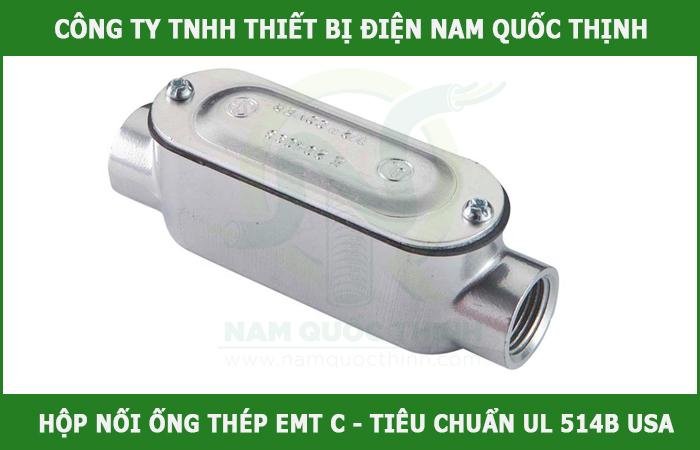 hộp nối ống thép luồn dây điện C 1 1/4 inch chất lượng
