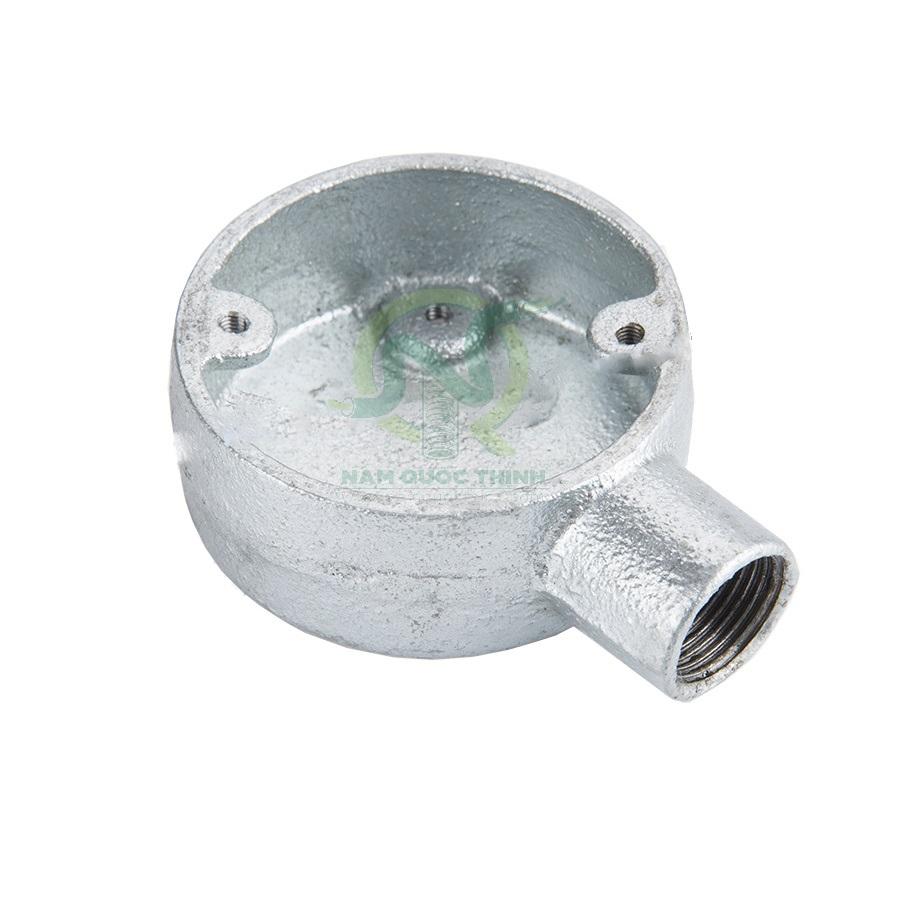 Hộp nối 1 ngã ren ống thép BS4568