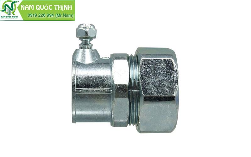 đầu nối ống thép trơn E với ống ruột gà thép